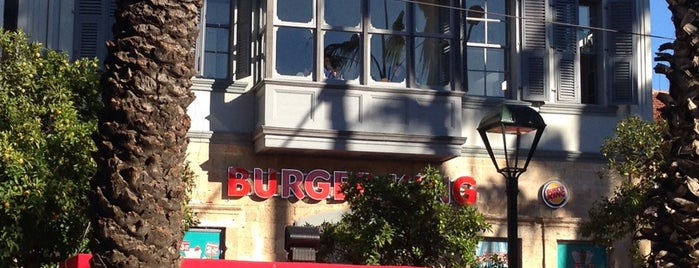 Burger King is one of ANTALYA YEMEK MEKANLARI 🍴🍗🍲🍳🍝🍜🍩🍰🍕🍔🍤🍦🍨.