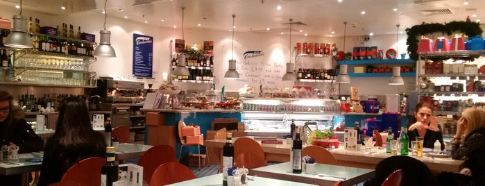 Carluccio's is one of London.