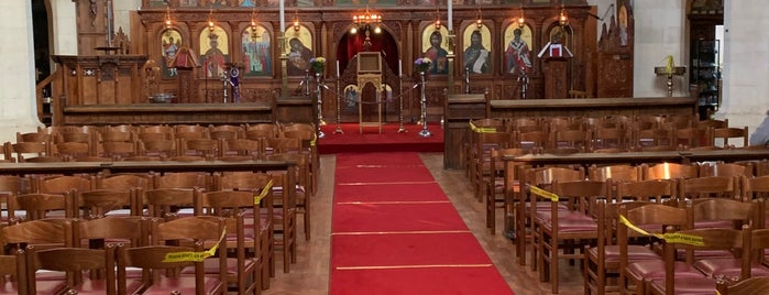 The Greek Orthodox Cathedral of the Holy Cross and St Michael is one of Orthodox Churches - Western Europe.
