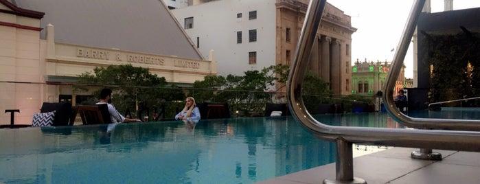 NEXT Hotel Brisbane is one of Orte, die Kat gefallen.