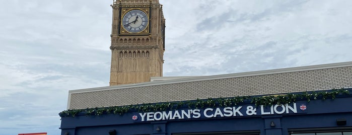 Yeoman's Cask and Lion is one of Tommy'un Beğendiği Mekanlar.