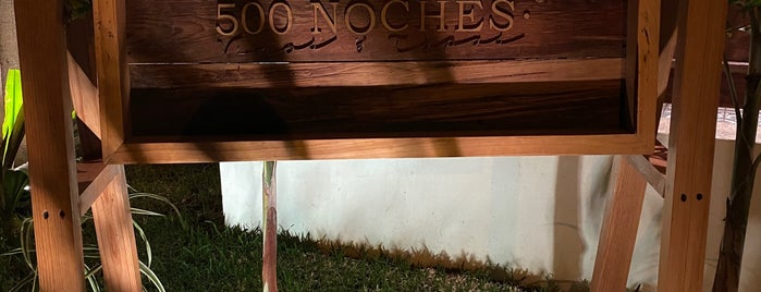 500 Noches Col. México is one of Pendientes de ir.
