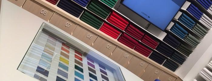 Lacoste is one of Must-visit Giyim Mağazaları in Antalya.