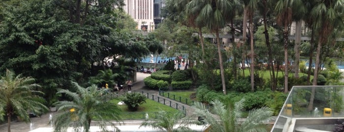 Chater Garden is one of Hong Kong.