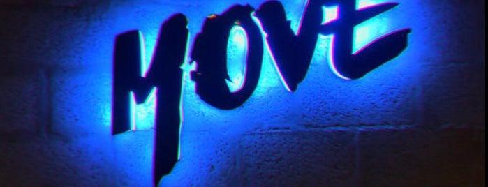 MOVE is one of Locais curtidos por Queen.