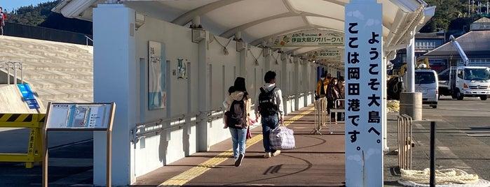 岡田港 is one of 高井さんのお気に入りスポット.