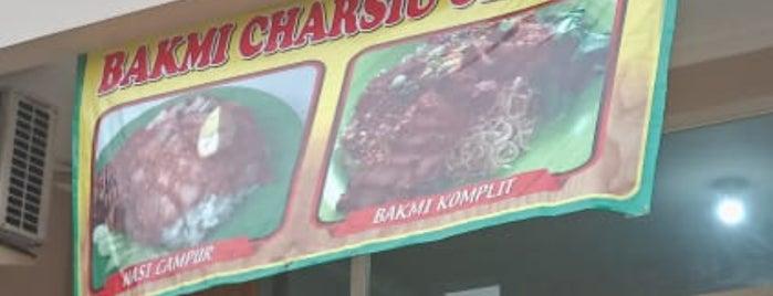 Bakmie Charsiu Gloria is one of Kuliner Bekasi.