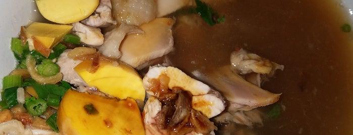 Sop Ayam Pak Miin Klaten is one of Kuliner Bekasi.