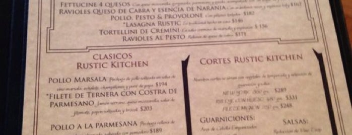 Rustic Kitchen is one of México.