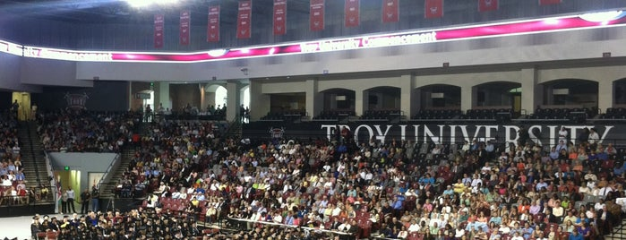 Trojan Arena is one of NCAA Division I Basketball Arenas Part Deaux.