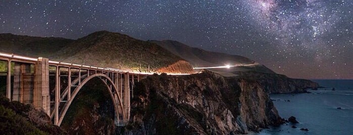 Bixby Creek Bridge is one of Cali.