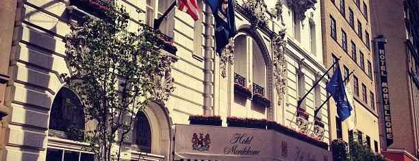 Hotel Monteleone is one of NOLA.