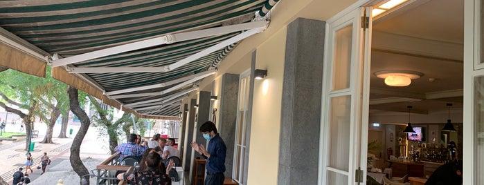 Theo's Bazar Café is one of Madeira.