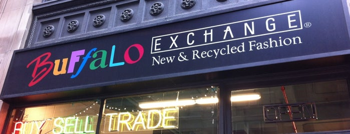 Buffalo Exchange is one of Manhattan - Go Explore Your City.