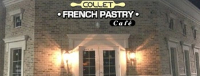 Collet French Pastry & Cafe is one of สถานที่ที่ Eu Gene ถูกใจ.