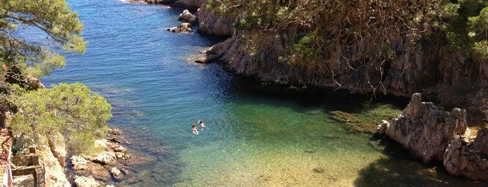 Cala Aigua Xelida is one of Playas de España: Cataluña.