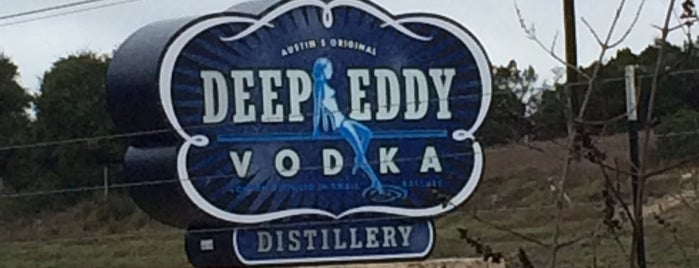 Deep Eddy Vodka Distillery is one of Dripping Springs Area.