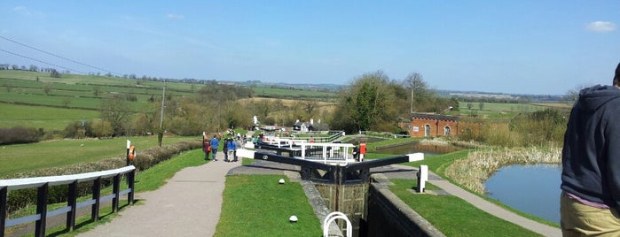 Foxton Locks Inn is one of Lugares favoritos de Carl.