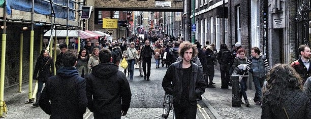 Brick Lane is one of London Town.