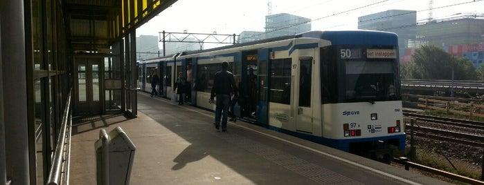 Tramhalte Amstelveenseweg is one of Alle tramhaltes van Amsterdam.