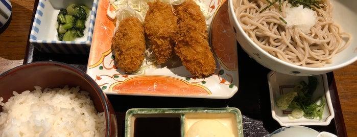 総本家 浪花そば 北浜店 is one of Hideo'nun Beğendiği Mekanlar.
