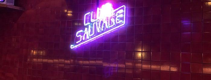 Bar Sauvage is one of uwishunu spain.