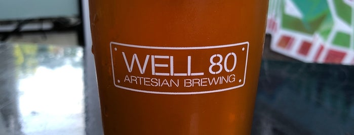 Well 80 Artesian Brewing Company is one of Posti salvati di Brent.