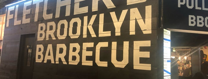 Fletcher's Brooklyn Barbecue is one of Posti salvati di Rafael.
