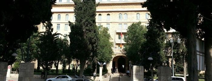 King David Hotel Jerusalem is one of My Little Jeru.