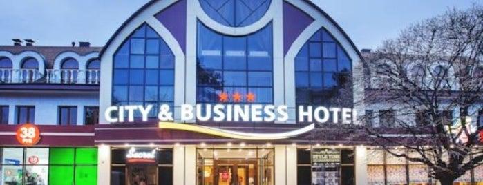 City & Business Hotel is one of Olga : понравившиеся места.
