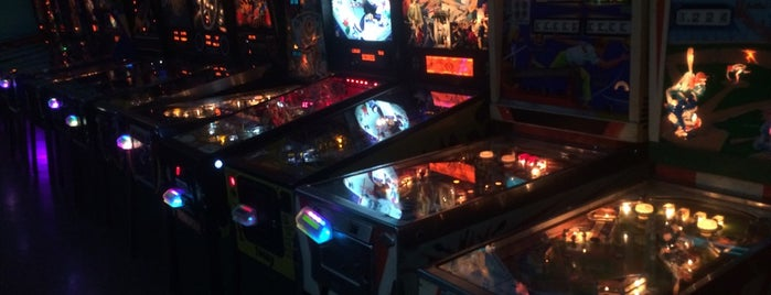 Timeline Arcade is one of Pinball Destinations.