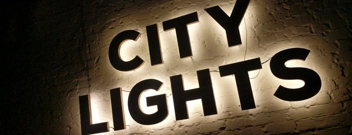 City Lights is one of Tempat yang Disimpan Елена.