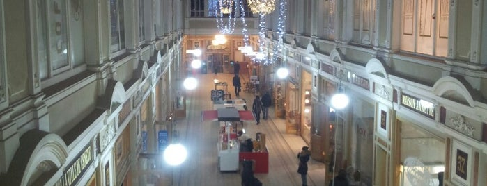The Passage Shopping Arcade is one of TOP-100: Торговые центры Санкт-Петербурга.