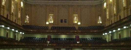 Symphony Hall is one of Beantown.