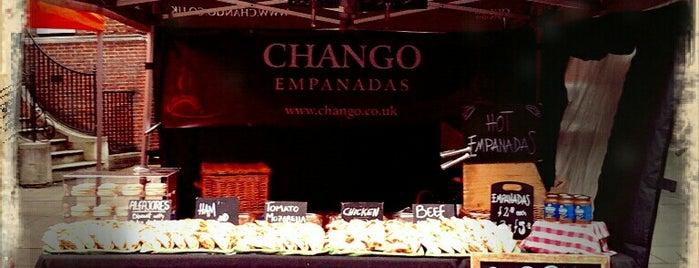 Chango Empanadas is one of London.