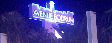Avenue Bodrum is one of Bodrums' populars.