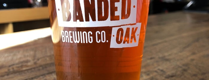 Banded Oak Brewing is one of Denver, CO 🌤 🏞🍺.