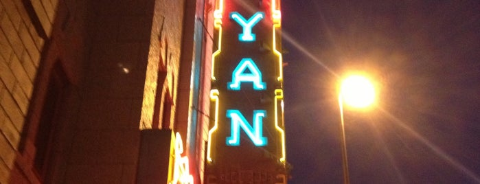 Mayan Theatre is one of denver nothing.