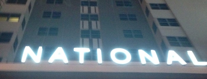 National Hotel Miami Beach is one of Miami Music Week 2014.