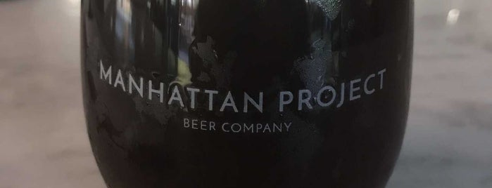 The Manhattan Project Beer Company is one of Dallas/FW.