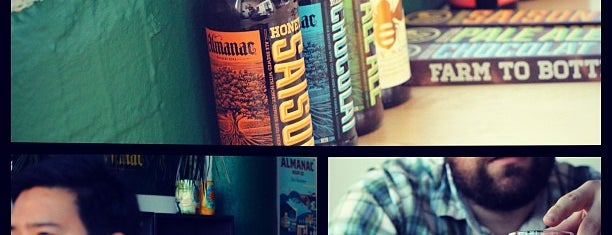 Almanac Beer Co. is one of Bay Area Breweries.