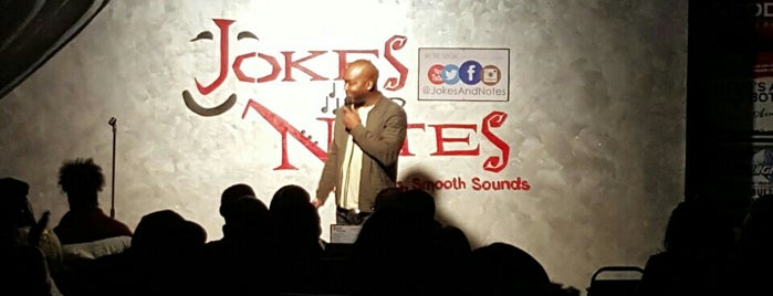 Jokes And Notes Comedy Club is one of Chi - Bars/Pubs/Lounges.