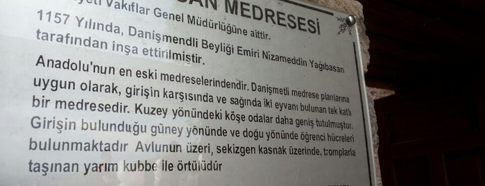 Yağıbasan Medresesi is one of Posti che sono piaciuti a H.