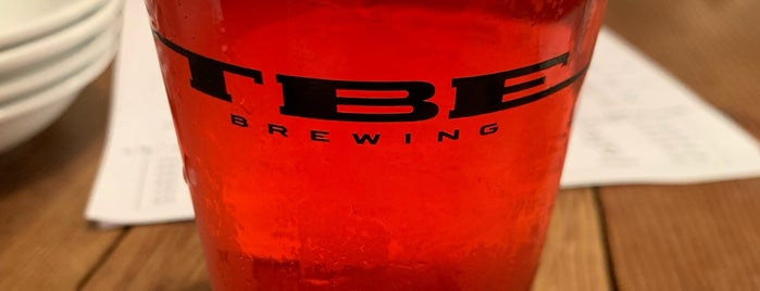 TBE Brewing is one of Tokyo Beer Bars.