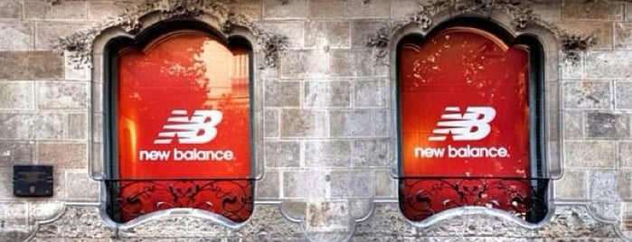 New Balance is one of Barcelona.