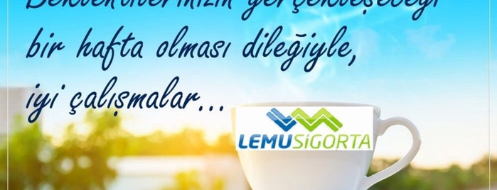 Lemu Sigorta Aracılık Hizmetleri is one of M.HakanYilmazさんのお気に入りスポット.