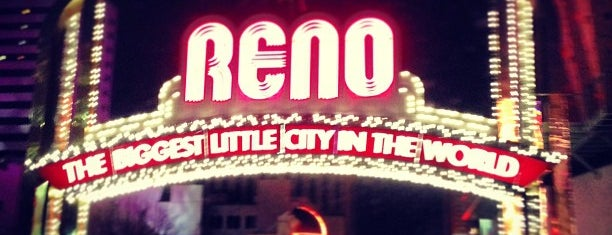The Reno Arch is one of Burn Baby Burn.