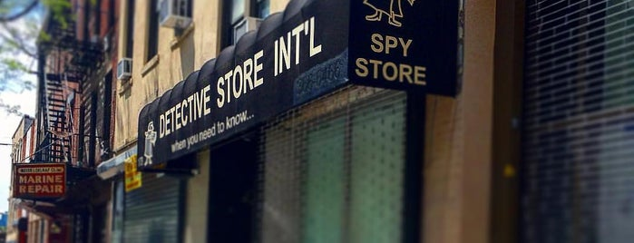Spy Store is one of Locais curtidos por Ramsey.