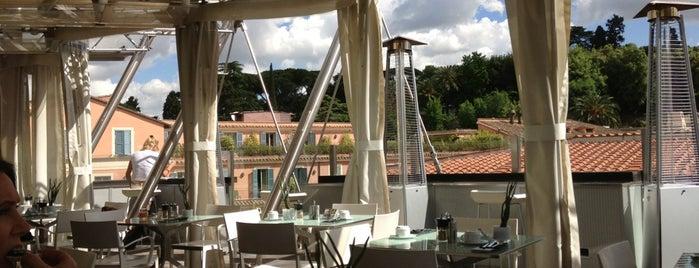 Hi-Res Restaurant & Terrace Lounge is one of Bons plans Rome.