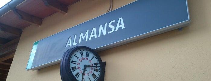Estación de Almansa is one of Ciudad-Real – Alicante.